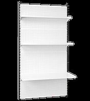 Стелаж настінний приставий 2350*950 мм, Стеллаж настенный приставной 2350*950 мм