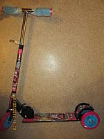 Самокат большой трехколесный Monster High