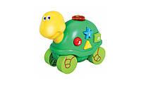 Музыкальная игрушка Дружелюбные животные Черепашка со звуковыми эффектами Navystar (65039-E-4)