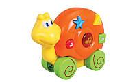 Музыкальная игрушка Дружелюбные животные Улитка со звуковыми эффектами Navystar (65039-E-5)