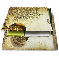 Блокнот-планшет NotePad со стикерами Post-it «Компас»