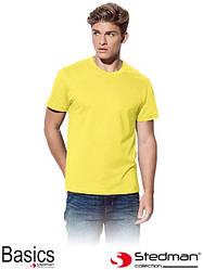 Мужская летняя футболка ST2100 YEL