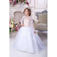 Нарядное платье для девочки 9725