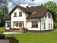 Проект мансардного дома Hd44