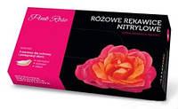 Перчатки Doman Pink Rose для проблемной кожи размер L, 5 пар