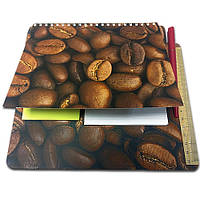 Блокнот-планшет NotePad со стикерами Post-it «Кофе»