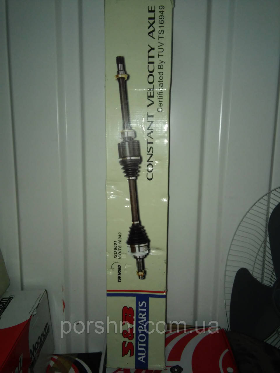 Полуось Ford CONNECT  2002 --  LH   KDD  2T143B437FB