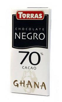 Шоколад Torras Negro 70% какао Испания 125г, фото 2