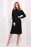 Женское  черное  платье Straight    FashionUp 42-48 размеры