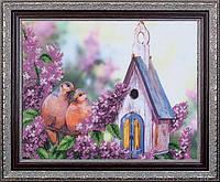 Набор для вышивания бисером Дикие голуби