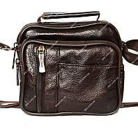 Мужская сумка - барсетка 2 в 1 для мужчин кожаная (8014-к)