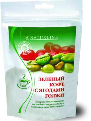 Зеленый кофе с ягодами годжи 100г Биола