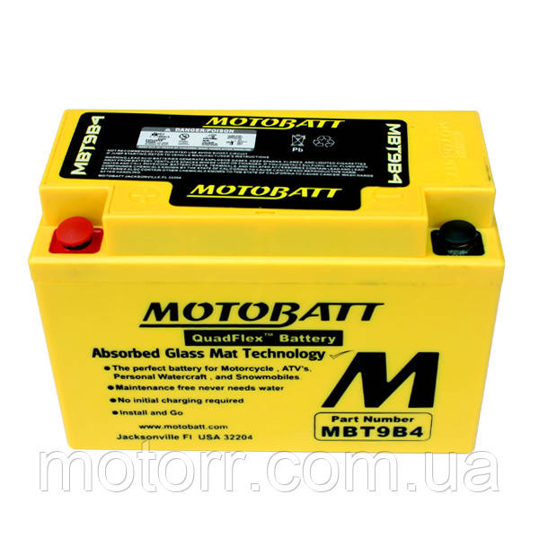 Аккумулятор Motobatt MBT9B4