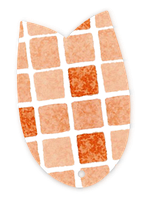"""Пленка ПФХ для бассейна """"SBGD 160"""" Elbtal Plastics (Mosaic Terracotta)"""