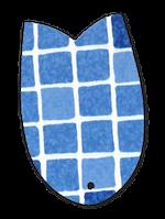 """Пленка ПВХ для бассейна """"SBGD 160"""" Elbtal Plastics (Mosaic Blue)"""
