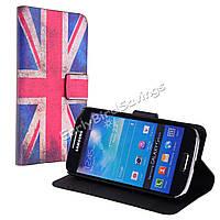 Чехол книжка для Samsung S4 Mini i9190 i9192