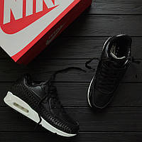 Мужские кроссовки Nike Air Max 90 WOVEN Black/Whote