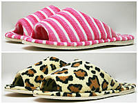 Панталеты домашние женские махра открытый носок Литма