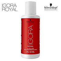 Лосьон-проявитель Igora Royal Oil Developer mini 6%, 60 ml