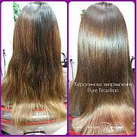 """Кератинове відновлення і випрямлення волосся Pure Brazilian, салон-перукарня """"Доміно"""", фото 1"""