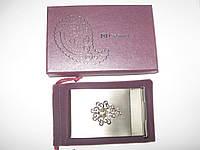 Визитница металлическая для своих визиток