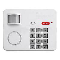 Охранная сигнализация для дома 107 OMEGA MD: изменяемый пин код, датчик движения, громкий динамик