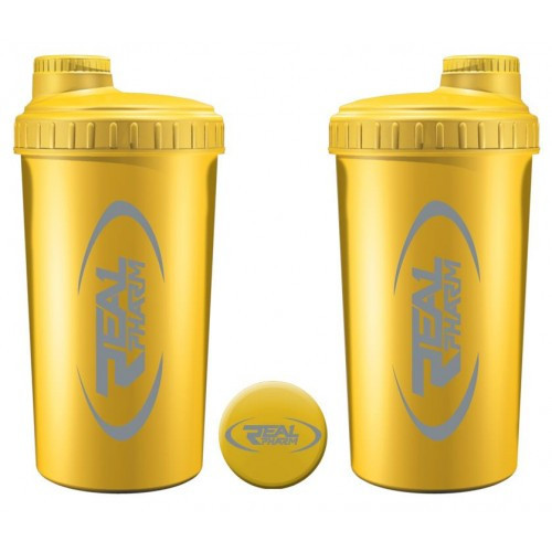 Шейкер Real Pharm 700 ml Желтый/yellow