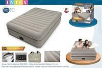 64446 Двуспальная надувная кровать (152х203х51см) Intex