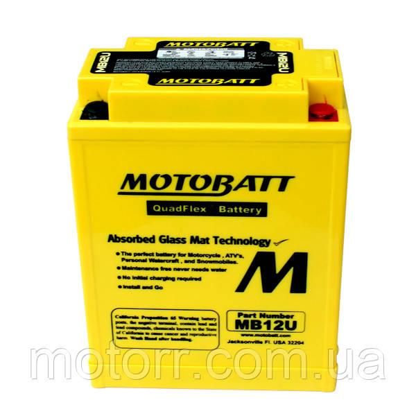 Аккумулятор Motobatt MB12U