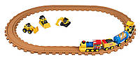 Железная дорога со звуком и светом Toy State Caterpillar  CAT Pre-School Express Train Light & Sound