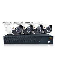 Комплект AHD видеонаблюдения на 4 уличные камеры Partizan Outdoor Kit 2MP 4xAHD // outdoor-kit-2mp-4xahd