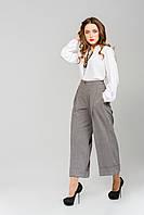 Укороченные брюки-юбка