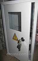 Щит ШМР-1ф-16А-В э распределительный металлический для 1ф. электронного счетчика и 16 автоматов врезной