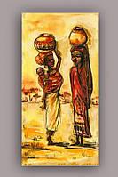 Светящиеся картины Startonight Африканская Женщина Печать на Холсте Декор стен Дизайн дома Интерьер