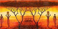 Светящиеся картины Startonight Африканская Тематика  Печать на Холсте Пейзаж Декор стен Дизайн дома Интерьер