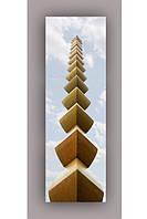Светящиеся картина Startonight Бесконечная Колонна Холст Архитектура Башня  Декор стен Дизайн дома Интерьер