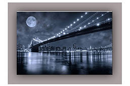Светящиеся картина Startonight Бруклинский Мост  Печять холст Город Нью Йорк Декор стен Дизайн дома Интерьер