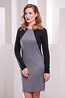 Серое молодежное  платье Jessica   FashionUp 42-48  размеры