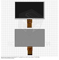 "Дисплей для планшета China-Tablet PC 7"", шлейф 40 мм, (164*97 мм), 50 pin, 7"", (800*480), MFPC070002/BF609070"