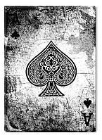 Светящиеся картина Startonight Покер Туз Пик Карты Абстракция Печать на Холсте Декор стен Дизайн дома Интерьер