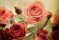 Светящиеся картины Startonight Розы Печать на Холсте Цветы Флористика Декор стен Дизайн дома Интерьер, фото 1