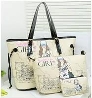 Женская сумка Городская девушка