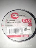 Изолента ПВХ Intertool (25mх17mmх0,15mm)