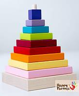 Пирамидка «Разноцветная»