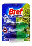 Чистящее средство для унитаза Bref Duo-Aktiv Хвоя (запаски) 2 х 50 мл - 100 мл.