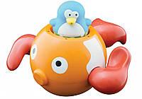 Игрушка для ванны Water Fun Пингвинчик на золотой рыбке