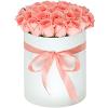 Чайные розы 51 шт в подарочной коробке!