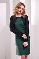 Молодежное  платье Jessica темно-зеленый  FashionUp 42-48  размеры