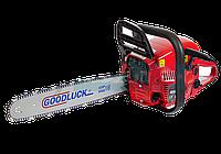 Бензопила Goodluck 5000Е 2 шины 2 цепи в металле
