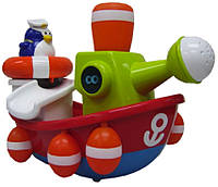 Игрушка для ванны Water Fun Пингвинчик-моряк на корабле